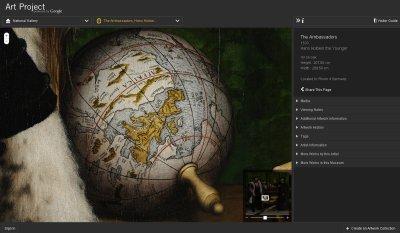 Google Art Project, Hans Holbein - The Ambassadors