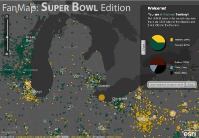 Packers vs Steelers Territory