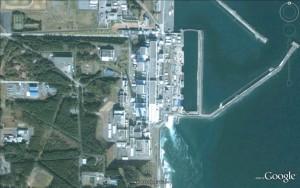 Fukushima nuclear power plant location