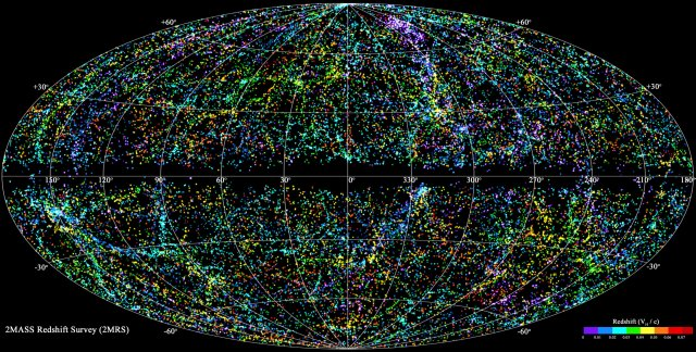 Most complete map yet of galaxies in the local universe