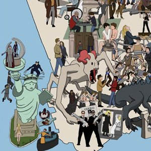 IllustratedNew York Movie Map