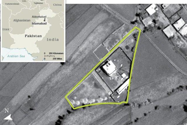 Abbottabad hideout 2005