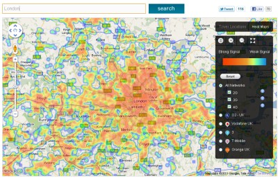 latitude map, country code map, longitude map, mac map, connection map, on signal strength map